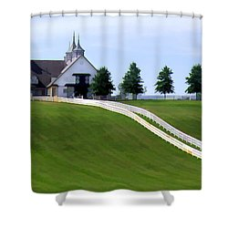Manchester Farm Shower Curtain