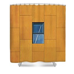Manchester Windows 2 Shower Curtain