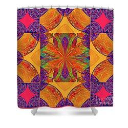 Mandala #2  Shower Curtain by Loko Suederdiek