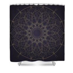 Mandala 2 Shower Curtain