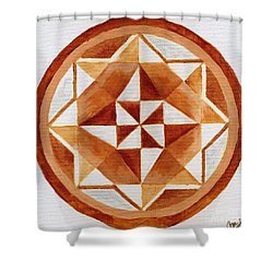 Mandala 21 Shower Curtain
