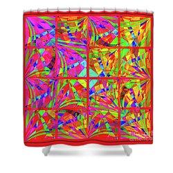 Mandala #48 Shower Curtain by Loko Suederdiek