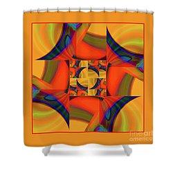 Mandala #56 Shower Curtain by Loko Suederdiek
