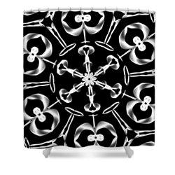 Mandala 8 Shower Curtain