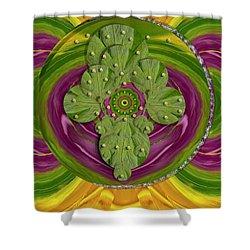 Mandala Art Shower Curtain by Pepita Selles