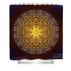 Mandala - Evening Sun Shower Curtain