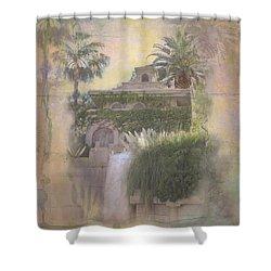 Mandalay Bay Shower Curtain