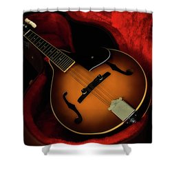Mandolin Guitar 66661 Shower Curtain