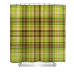 Mandoxocco Wallpaper Green Shower Curtain