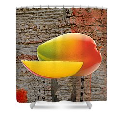 Mango Collection Shower Curtain