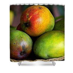 Mangos Shower Curtain