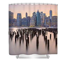 Manhattan Dusk Shower Curtain
