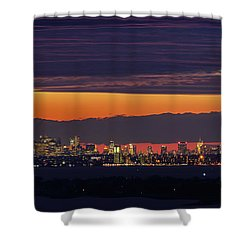 Manhattan Lights Shower Curtain