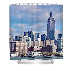 Manhattan Skyline No. 7-1 Shower Curtain