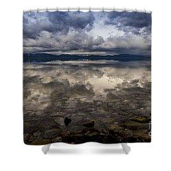 Manifestation  Shower Curtain by Mitch Shindelbower