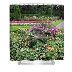 Manito Park Garden 1 Shower Curtain