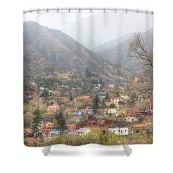 Manitou To The South Iv Shower Curtain by Lanita Williams
