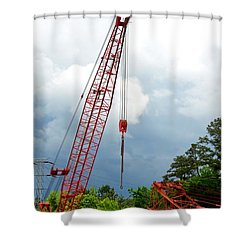 Manitowoc Crane 2015 Shower Curtain