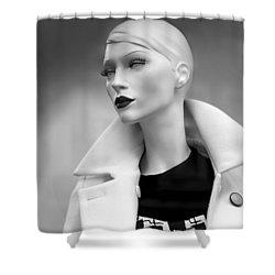 Mannequin 117 Shower Curtain