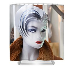 Mannequin 74a Shower Curtain