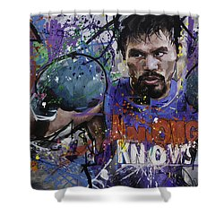 Manny Pacquiao Shower Curtain