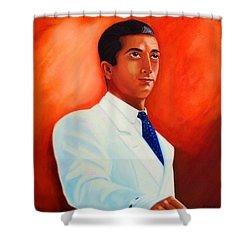 Manolete El Hombre Shower Curtain