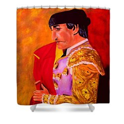 Manolete1 Shower Curtain