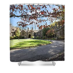 Mansion At Ridley Creek Shower Curtain