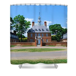 Mansion Shower Curtain by Eric Liller