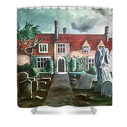 Mansion Shower Curtain by Persephone Artworks