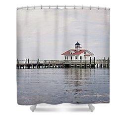 Manteo Lighthouse Shower Curtain