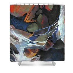 Mantled Epoch Shower Curtain by Rae Andrews
