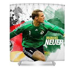 Manuel Neuer Shower Curtain