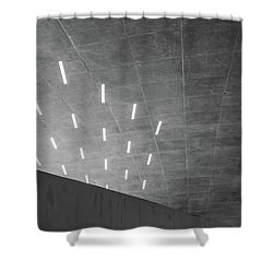 Many Directions Shower Curtain