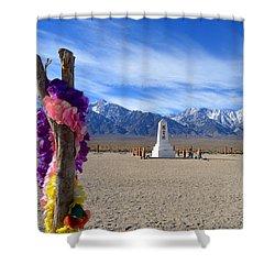 Manzanar Shower Curtain