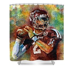 Manziel Shower Curtain