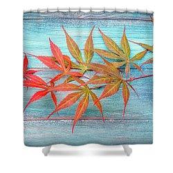 Maple Colors Shower Curtain