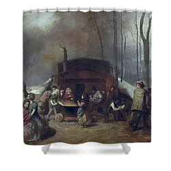 Maple Syrup, C1865 Shower Curtain by Granger