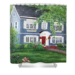Maplewood Colonial Shower Curtain