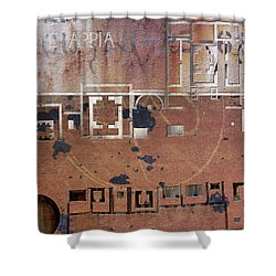 Maps #19 Shower Curtain