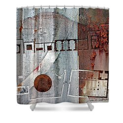 Maps #20 Shower Curtain