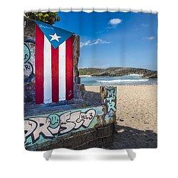 Mar Chiquita  Shower Curtain
