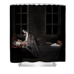 Mara - Mare Shower Curtain by Andy Renard