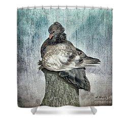 Maragold Shower Curtain by Shari Nees