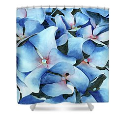 Marathon Hydrangeas Shower Curtain