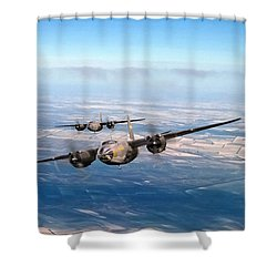 Marauder Twoship Shower Curtain