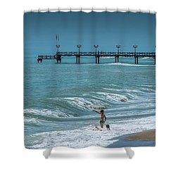 Marbella Beach Shower Curtain