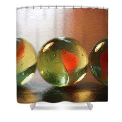 Marble Dream Shower Curtain