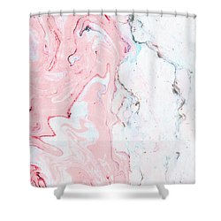 Marble Love Shower Curtain