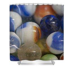 Marble Memories Shower Curtain